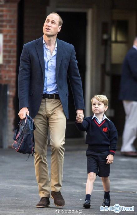 英国乔治小王子上小学啦