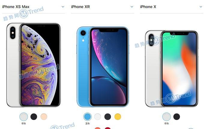 苹果XSMax XS XR X系列买哪个好:全面对比配置多哪些功能