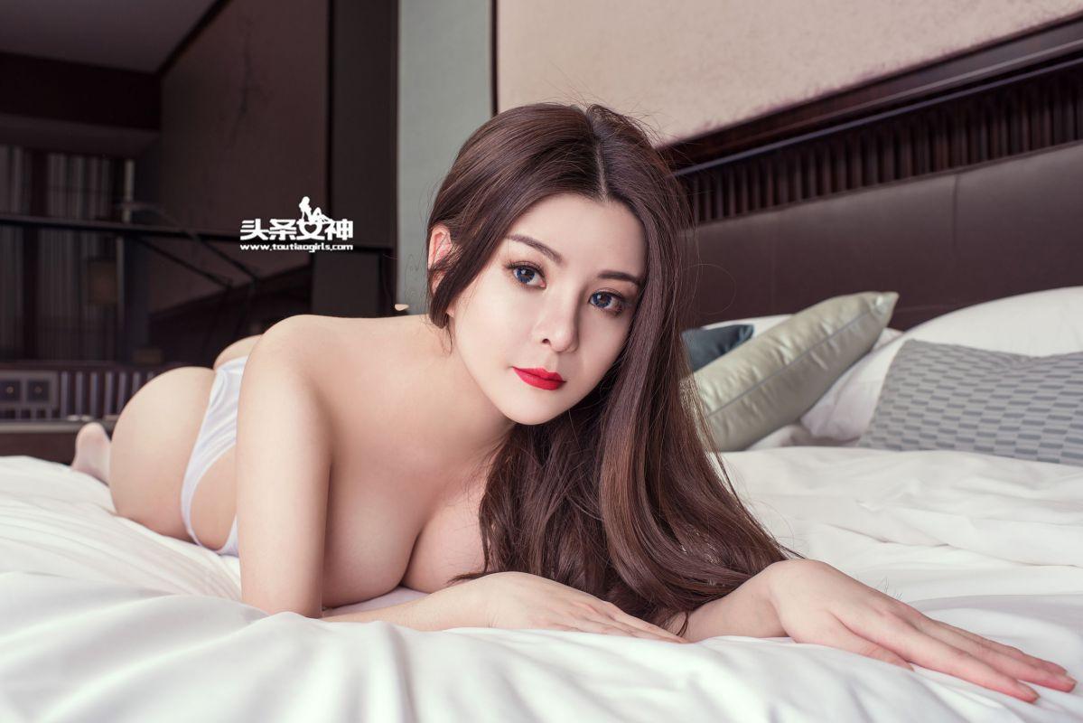 诱人模特韩安琪Olivia无删精选性感照片