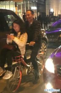 共享单车花式载人