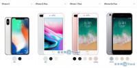 苹果X 8Plus iPhone7 6s差别具体在哪?图说性价比谁更高