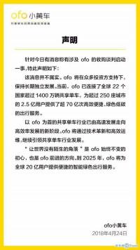 热点:ofo回应收购 伊朗警告美国 琼瑶反击丈夫原配