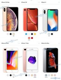 买苹果XSMax XR XS X 8P 7P怎么选?从屏幕容量到颜色尺寸